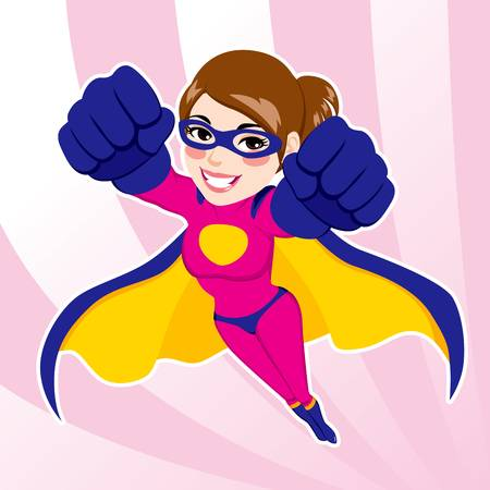 32363735-illustration-of-sexy-beautiful-fit-woman-in-superhero-costume-flying